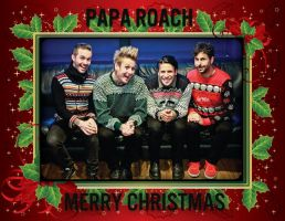Merry Xmas by Papa Roach by GhiacciolinaLP
