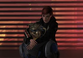No Shepard without Vakarian by Milosa94