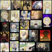 The Many Faces of Edward Elric by BrokenSilhouette77