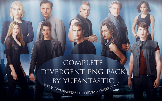 Divergent PNG Pack by yufantastic