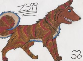 Fursona is here o3o by Zs99