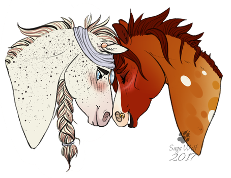 CM || Headshot | Farsight and Zenith by SagaWolf