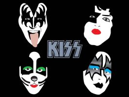 Kiss Serie: the Walpaper by MabtheEvil