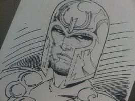 Magneto Sketch by Sajad126
