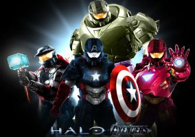 Halo Goes The Avengers by Rene-L