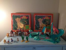 Lion King Toy hunt find lot by Nala1994