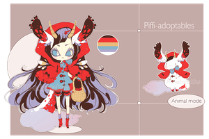 [CLOSED] ADOPT Auction 04 - Aloise species 01 by Piffi-adoptables