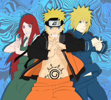 Uzumaki Family by birdgirl69