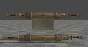 The Elder Scroll by zeushk