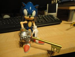 Sonic and His Keyblade by Vqstudios