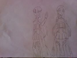 Asuna Draw by alyn2rikla