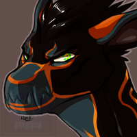 [Halloween Icon] - NorthWestSpiritWolf by Linkaton