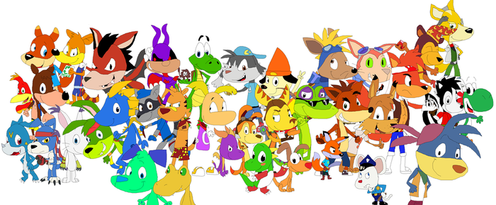 Video Game Critter Heroes V3 by JustinandDennnis