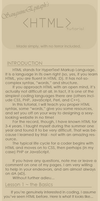 HTML Tutorial 1.0 by SanguineEpitaph