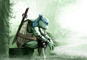 TMNT 1990 movie Leo by JodyBriggs