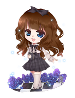 Chibi for unexplained-writer by Seo-Jin