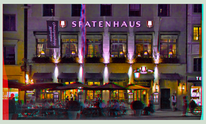 Spatenhaus Munich 3D ::: HDR Anaglyph Stereoscopy by zour