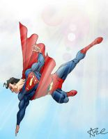 Superman by ArtistAbe