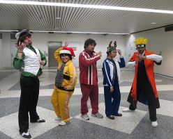 Cosplay Sentai Fanimenger by R-Legend