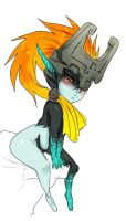 Worried Midna by ManiacPaint