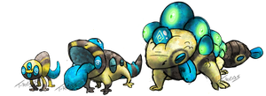 Eye Skink Fakemon by T-Reqs