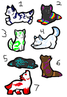 Wolf Adoptables 94 - CLOSED by Animal-Adoption-Club