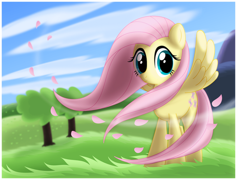 The Wind in Her Hair by CTB-36