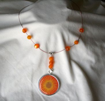 Sunburst Pendant by Freebird007