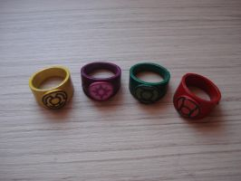 Lantern corps rings by Regis-AND