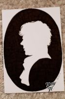 Sherlock Holmes Silhouette by Tressytc