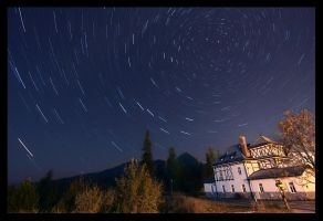 Tatras by night by Sesjusz