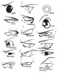 Inked FMA Eyes by ajbluesox