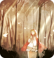 little red riding hood by pixelsick