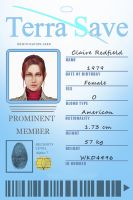 Claire Redfield ID by VickyxRedfield
