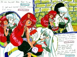 Sesshomaru Flirting by bluebellangel19smj
