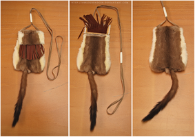 Ermine pouch by seriousbadger