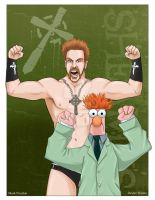 Family Reunion: Sheamus and Beaker by MarkPoulton