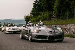 MERCEDES MCLAREN SLR STIRLING MOSS AT MILLE MIGLIA by DuschanTomic