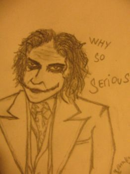 Why So Serious..? by Vinyatare