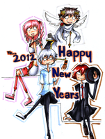 Happy New Years 2012 by HappehCakes