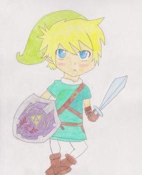 Link :: Legend of Zelda by Pasta-OrDie