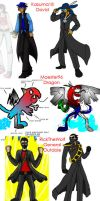 Redesigns Part 1 by PhiTuS