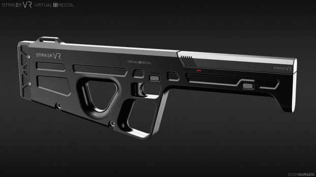 HAPTECH/StrikerVR Weapon Design by EdonGuraziu