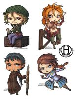 CS - Secondary Characters Chibis by Hedrick-CS