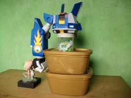 Megas XLR Project: Right Arm Test Mount by MarcGo26