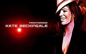 kate beckinsale-Painting by Firesphere306