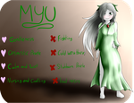 Character Ref | Myu by M-A-L-beast