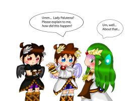 Kid Icarus Uprising: Kuro confusion by purplemagechan