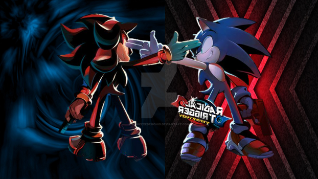 Sonic And Shadow Radical Trigger (Edited) by Sonicexedemonio