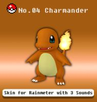 Pokemon Kanto Region Skins/No.04 Charmander (1.00) by gravvity